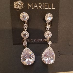 Mariell Cubic zirconia earrings